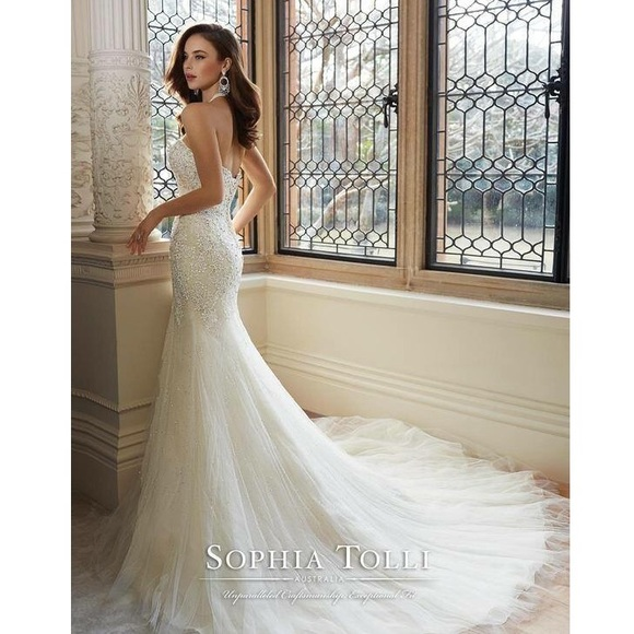 Sophia Tolli Dresses | Wedding Dress | Poshmark